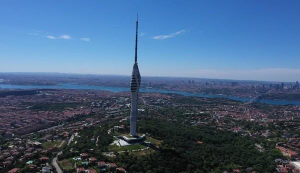 Bayramda Çamlıca Kulesi'ne Yoğun İlgi