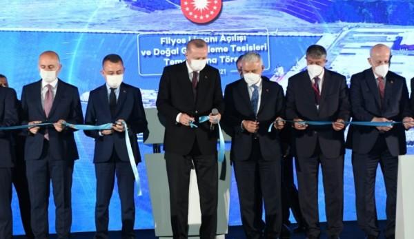 Karadeniz'in Yeni Lojistik Üssü Filyos Limanı, Hizmete Açıldı