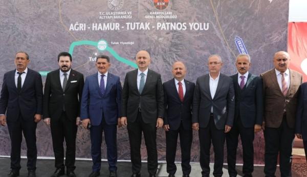 """Ulaştırma Bakanı Karaismailoğlu: """"Ağrı'da Karayolu Yatırımlarını 24 Kat Arttırdık"""""""