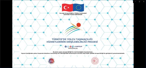 Türkiye'de Yolcu Taşımacılığı Hizmetlerinin Erişilebilirliği Projesi